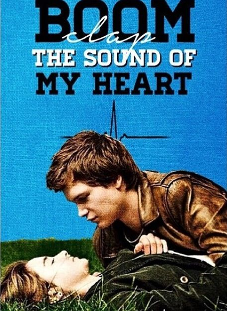 Boom clap the sound of my heart the beat goes on and on and on #tfios #okay #movies I AM IN LOVE WITH THIS SONG