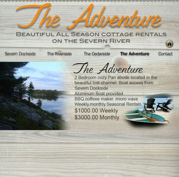 Cottage Rental Getaways - Severn River - Lost Channel