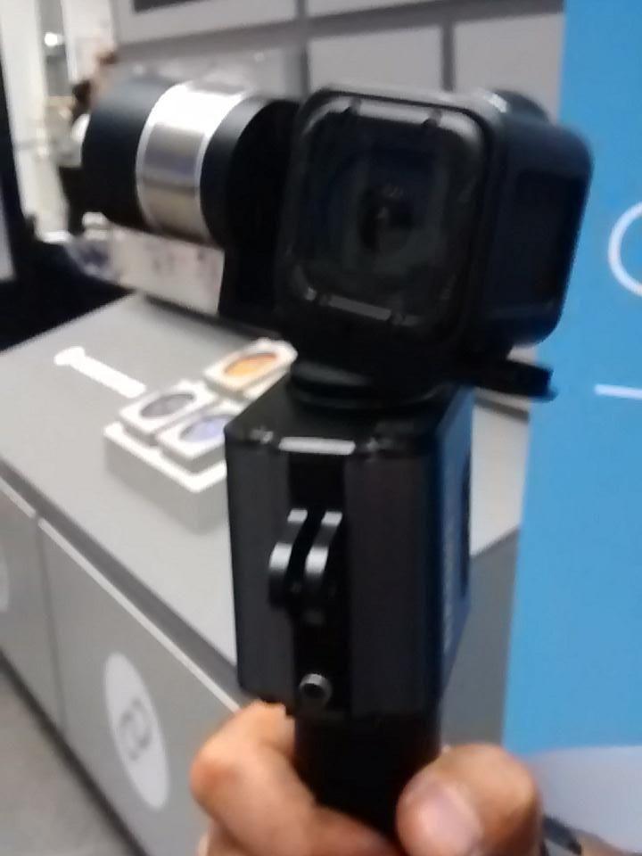 #Removu Kamerastabilisator für professionelle Actioncamfilme für 200 Euros #ifa15