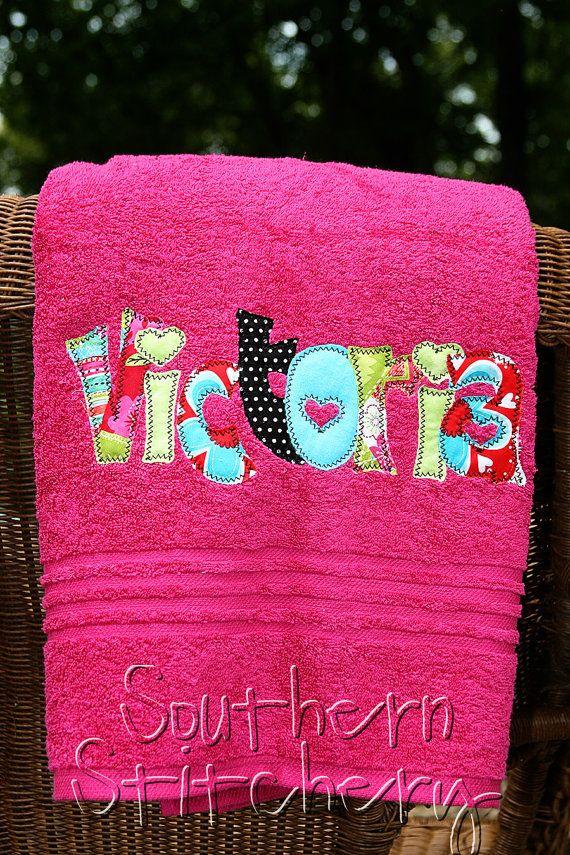 25  best ideas about applique towels on pinterest