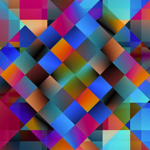 Assorted Algorithmic Abstracts II on Behance