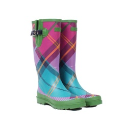 Tartan wellies (Ness, ~$40 USD) great for washing highlands!