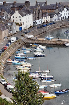Stonehaven, Scotland... my ex husband's hometown once upon a time. I was in Scotland for a month- the town is beautiful.