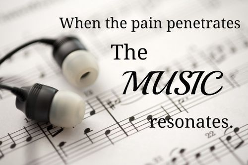 The music resonates