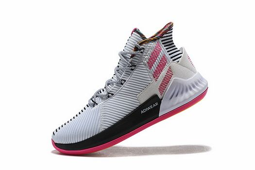 new arrival bac3f f61dc Adidas D Rose 9 Bb7658 White Pink Real 2018 Shoe