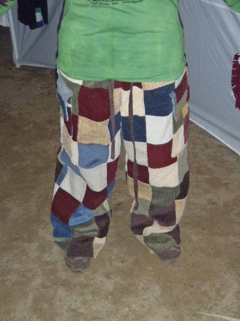 Custom Lge Xlge Mens Custom Patchwork Pants Corduroy