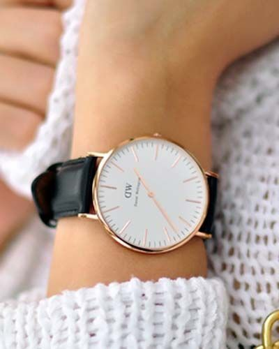 Daniel Wellington watch. Get 15% off your order w/ code SRATHARD