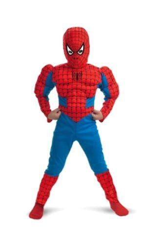 Spider Man Costume Spiderman Suit Muscle Costume Kids Spiderman Costume Small #MarvelsClassicSpiderMan #CompleteOutfit