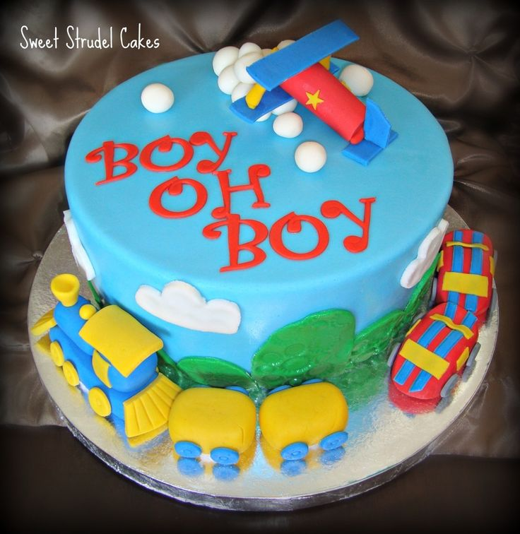 Train Baby Shower Cake Part - 39: Planes, Trains And Automobiles U2014 Baby Shower