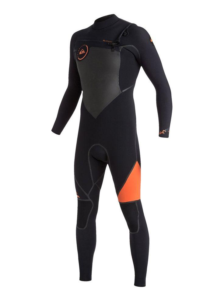 quiksilver, Syncro 4/3mm - Combinaison de surf intégrale zip poitrine, FLAME (nmj0)