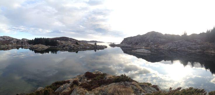 Bagstøvåg, Skjernøya, Mandal. Here I have caught many a sea trout.