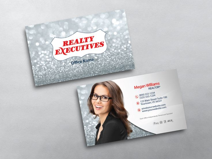 9 best cute realtor business card inspiration images on pinterest real estate business card templates for realty executives agents we design print realty executives business cards online reheart Gallery