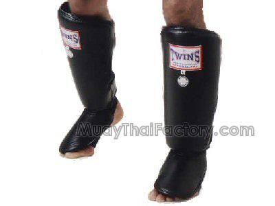 Twins special TWINS Muay Thai Shin Guard (Heavy Duty) - BLACK for sale.  [TW-N-001-K]
