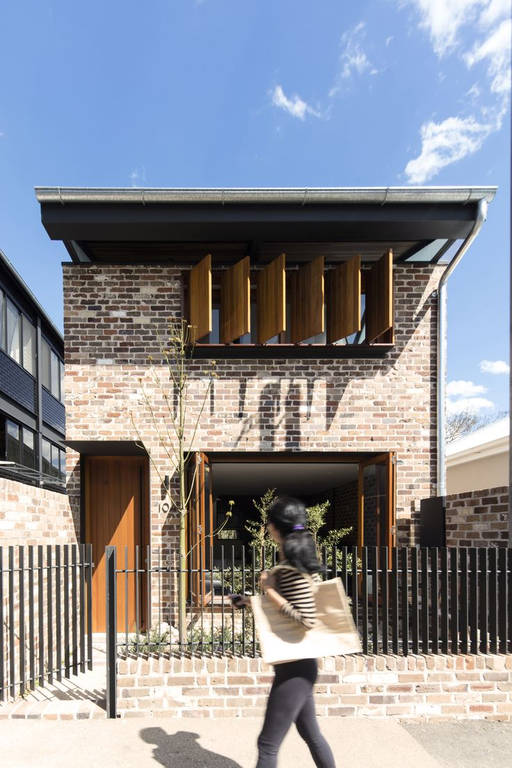 Completed in 2016 in Balmain, Australia. Images by Brett Boardman. The Truss House is a new building embedded with a memory of the site's former industrial past through the re-use of salvaged roof trusses. They...