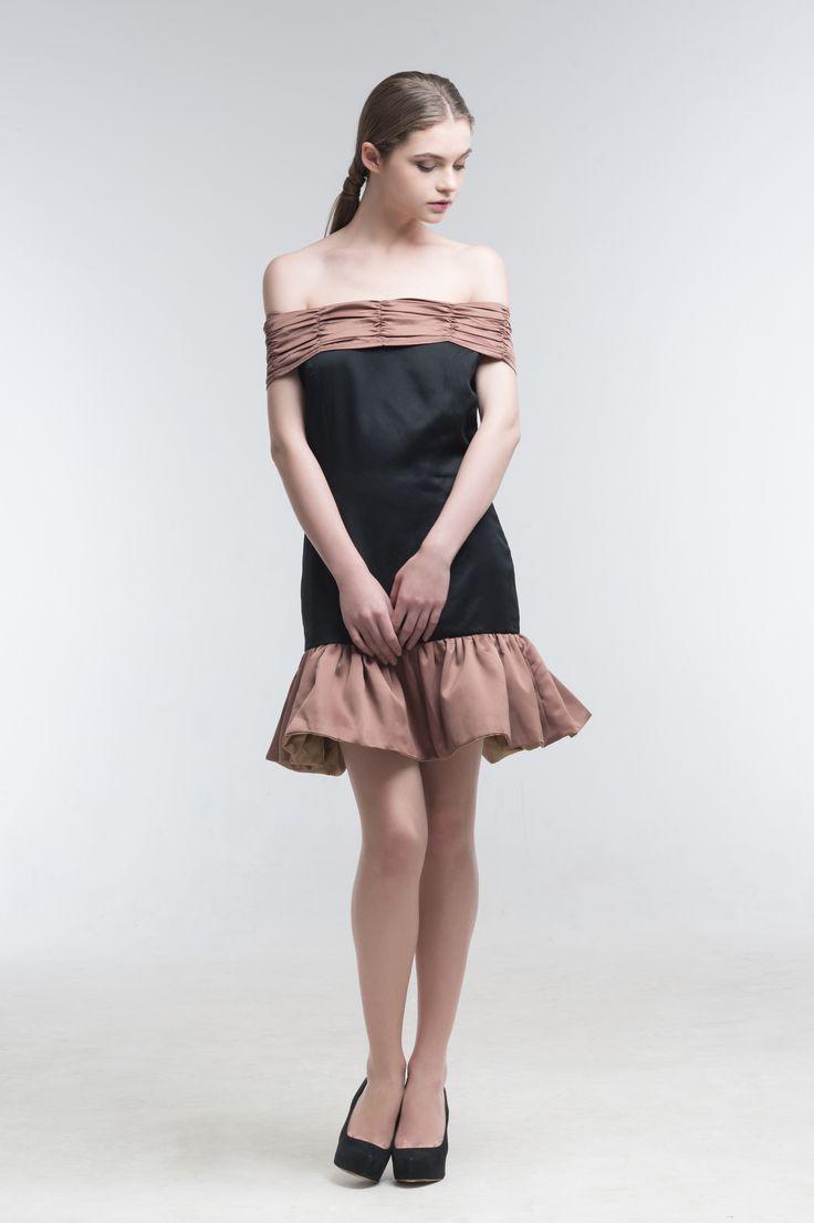Loreta Off Shoulder Mermaid Dress from Jolie Clothing  #JolieClothing www.jolie-clothing.com  #Fashion #designer #jolie #Charity #foundation #World #vision #indonesia  #online #shop #stefanitan #fannytjandra #blogger