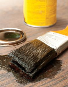 How to Refinish Wood Floors (Video)  Sunlight, dents and foot traffic can all take their toll on a wood floor, causing it to appear worn and resulting in reduced stain color. But with a few key supplies, you can revive worn wood flooring without heavy-duty sanding, from MOTHER EARTH NEWS magazine.