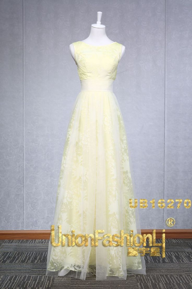 High-end Handmade Bridesmaid Dress UB16270