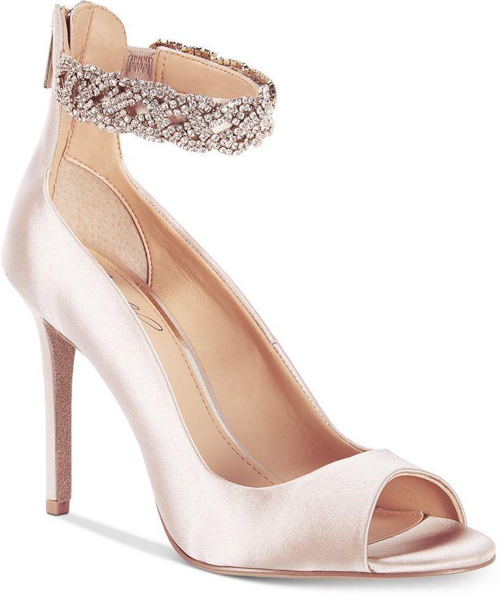 Jewel By Badgley Mischka Alanis Shoes Women S Wedding Bridal Bridesmaid