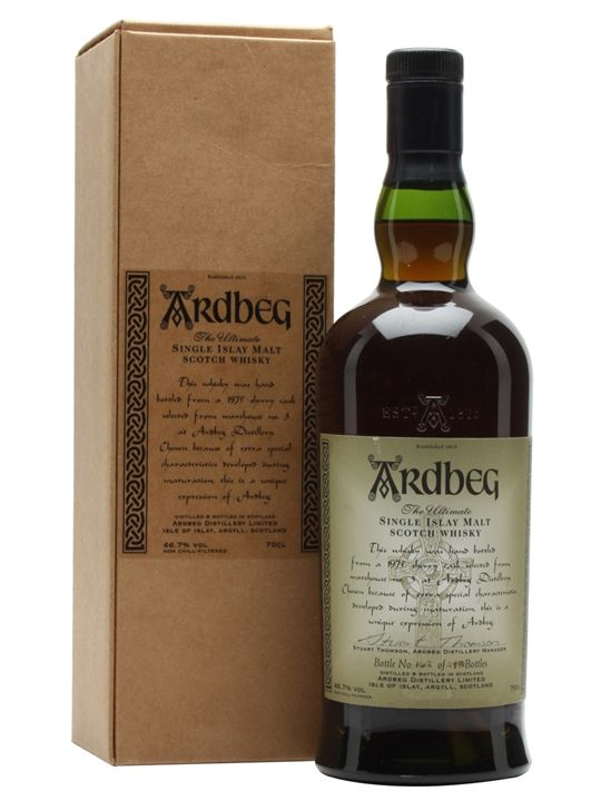 Ardbeg 1975 / Cask 4700 / Sherry Cask Scotch Whisky : The Whisky Exchange