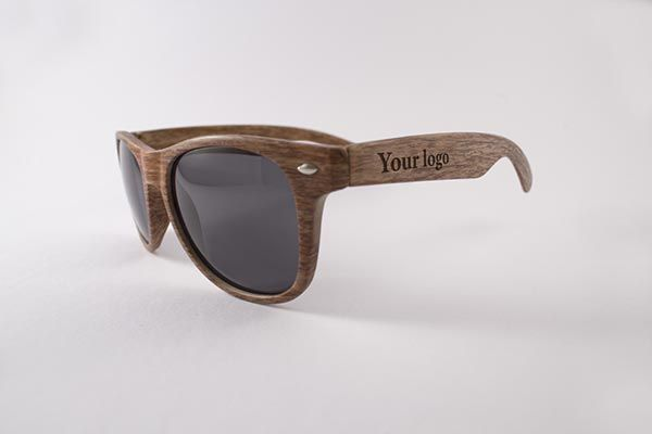 Realistic Wooden Sunglasses Mockup Wooden Sunglasses Sunglasses Rayban Wayfarer