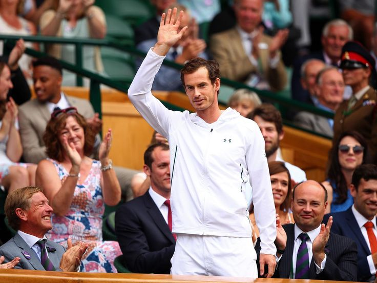 Wimbledon allow Andy Murray to break strict dress code for surprise cameo appearance in Royal Box