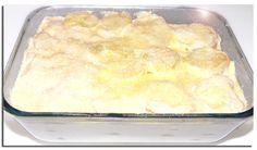 5 batatas médias  - 1 caixa de creme de leite  - 2 dentes de alho amassados  - 2 colheres de sopa de manteiga  - 1 saquinho de queijo parmesão  -