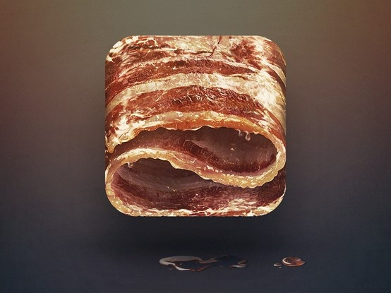 Bacon - by Eddie Lobanovskiy | #ui