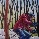 Résultats de recherche d'images pour «peinture de skieurs de Francois Brisson»