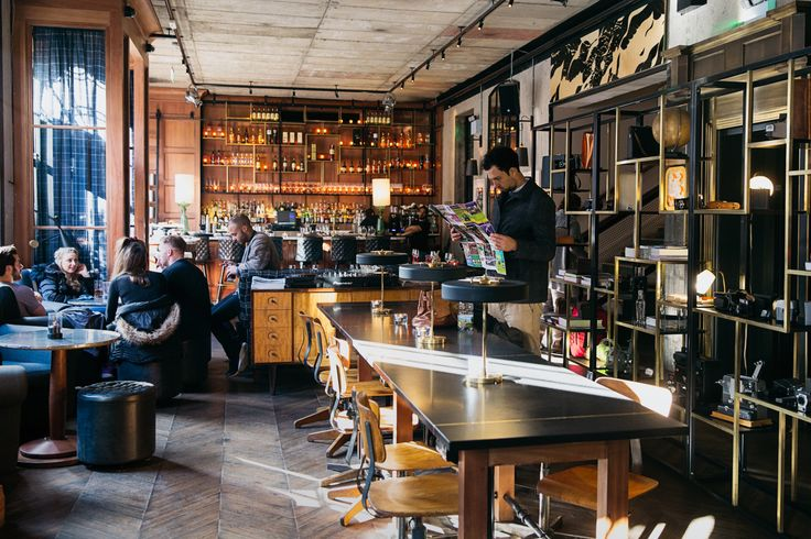 There's a bit of a rock and roll to the Dean Hotel in Dublin. You wouldn't necessarily think you stepped into a hotel upon entering where there'sa DJ spin table that separates t…