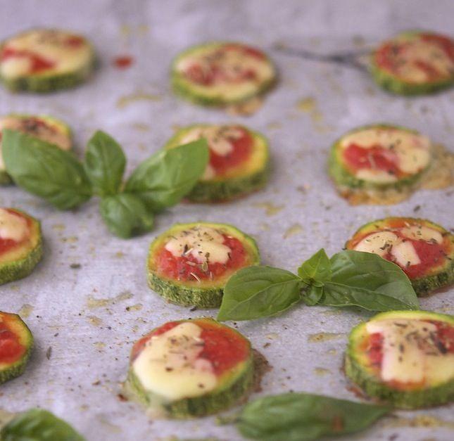 Zucchini Pizza Bites                                                                                               #justeatrealfood #theironyou