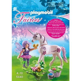 Playmobil 5440 Fée cuisinière avec licorne Violette: Amazon.fr: Jeux et Jouets