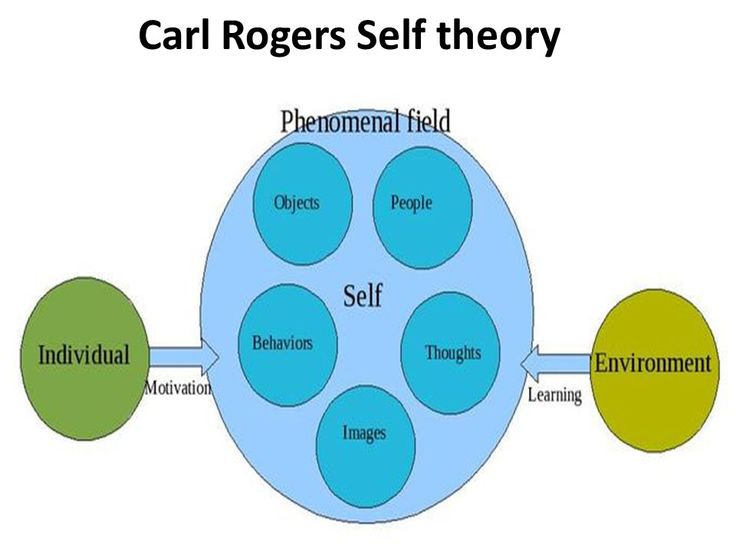 rogers humanistic theory of personality This study examined the self theory of carl rogers in depth there are some important concepts illuminated well, considering one's personality development its main focus was positive regard, self .