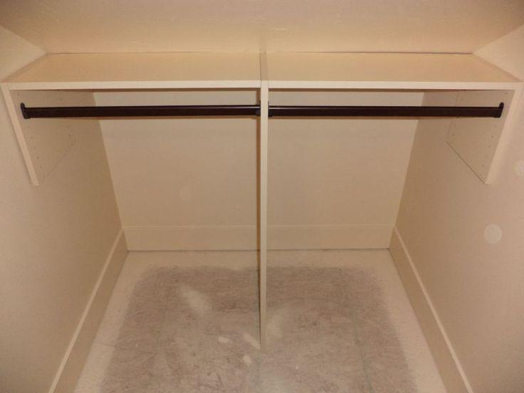 slanted ceiling storage ideas - 1000 ideas about Slanted Ceiling Closet on Pinterest