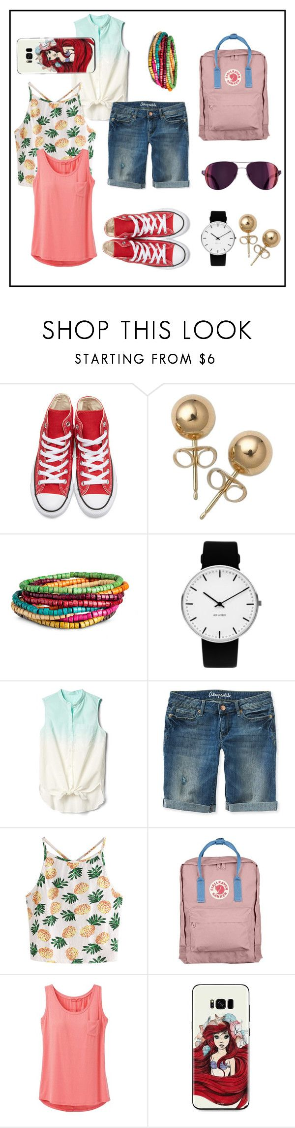 """Summer in the city"" by izostworekblogspot on Polyvore featuring moda, Converse, Bling Jewelry, Rosendahl, Gap, Aéropostale, WithChic, Fjällräven i prAna"