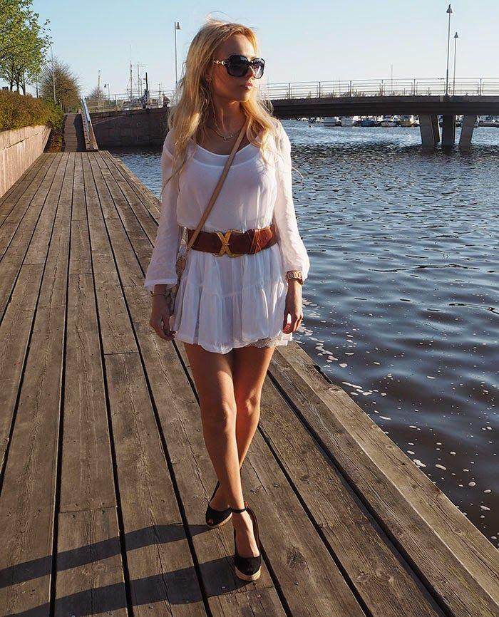 Miss Pia Elisabeth: Valkoinen mekko