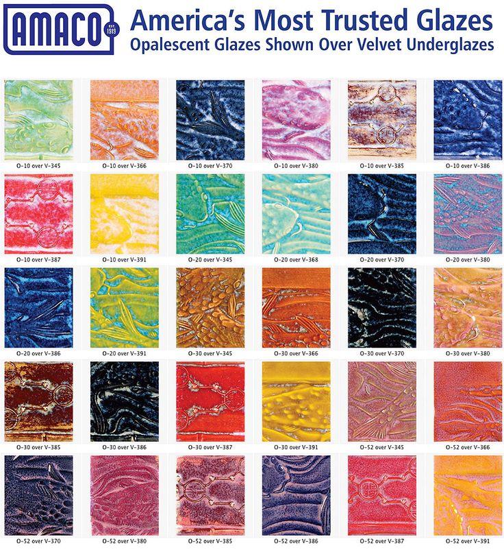 amaco opalescent glazes | Amaco Opalescent Glaze