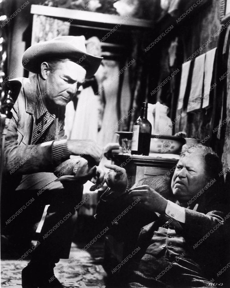 photo Randolph Scott Joel McCrea Mariette Hartley cast Ride the High Country 667-17