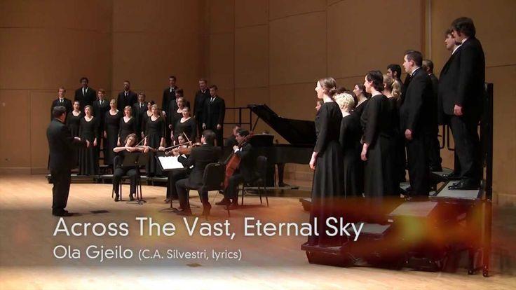 "CWU Chamber Choir: Gjeilo - ""Across The Vast, Eternal Sky"""