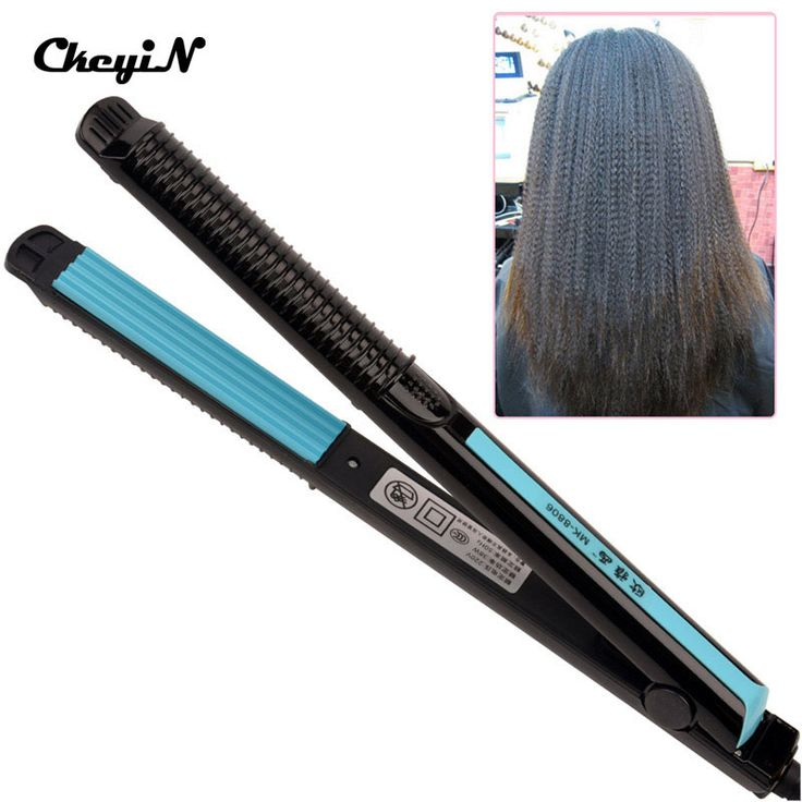Temperature Control Electric Hair Straighteners 110-240V Straightening Corrugated Iron Hair Crimper Corn Plate Styling Tools PJ //Price: $24.76 & FREE Shipping //     #hairextension #style #beauty #woman #love