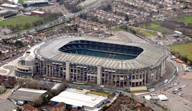 Twickenham Stadium (usually known as Twickenham or Twickers) is a stadium in Twickenham, south west London, England.    It is primarily a venue for rugby union ... Get more information about the Twickenham Stadium on Hostelman.com #attraction #United #Kingdom #landmark #travel #destinations #tips #packing #ideas #budget #trips