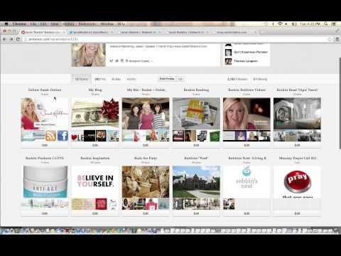 How to Use Pinterest For Your Home Based Business - YouTube