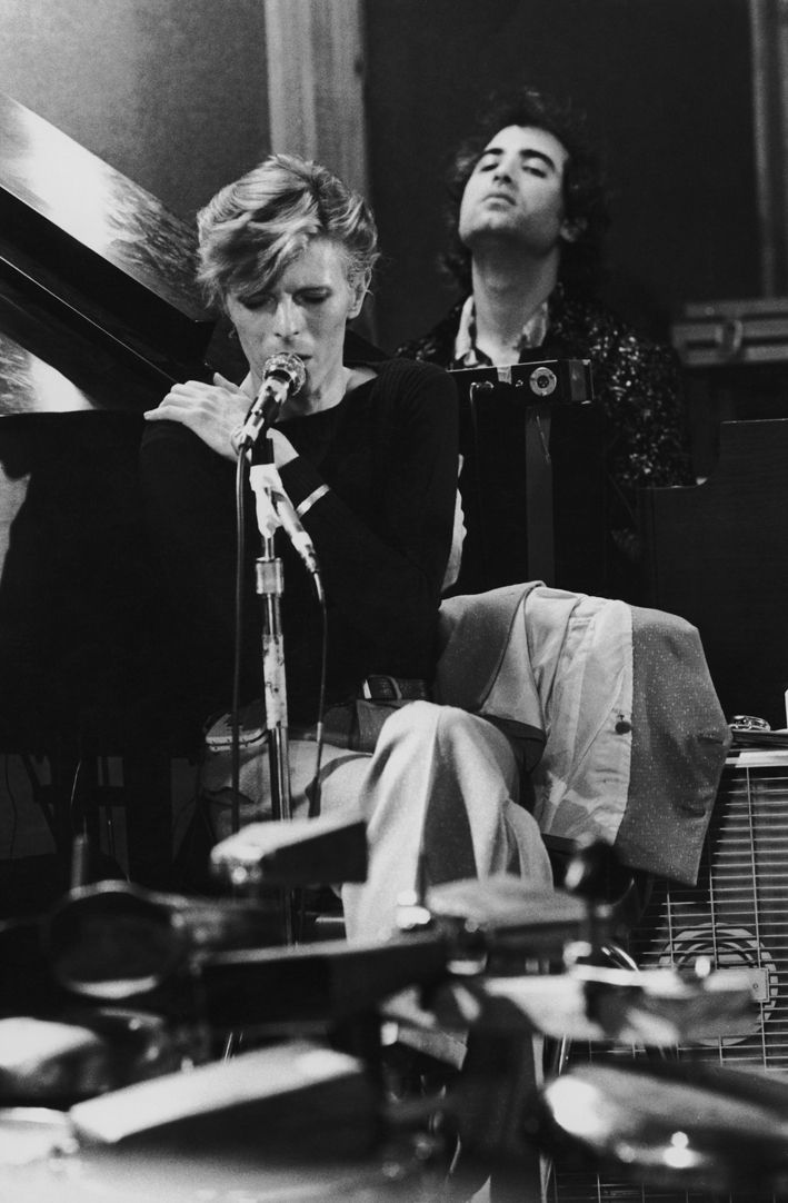David Bowie, AUGUST 1974, TOUR REHEARSALS, LOS ANGELES, CALIFORNIA