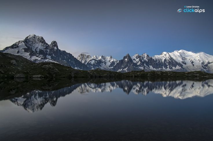 Blue Hour at Lake Cheserys - Chamonix by Leone Christian on 500px