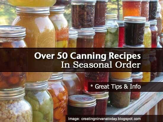 50 seasonal canning recipes