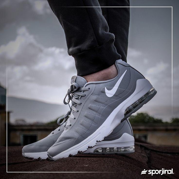 Nike Air Max Invigor Erkek Gri Spor Ayakkabı (749680-011) - Günlük - Ayakkabı - ERKEK