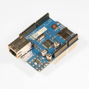 The Arduino Ethernet Shield Rev3 allows an Arduino board to connect to the internet. It is based on the Wiznet W5100 ethernet chip. #ArduinoEthernet #EthernetShieldRev3 #Philippines http://www.dynamodo.com/modules/arduino-shields/shields-arduino-ethernet-shield-rev3-wo-poe-module.html