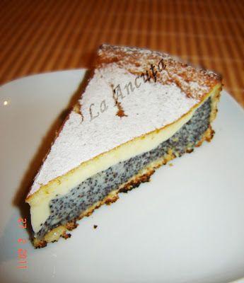 La Ancuţa: Tarta cu mac si vanilie