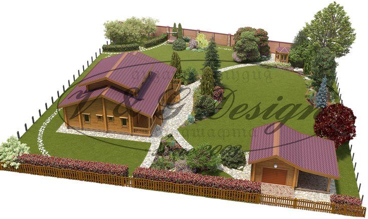 Проекты ландшафтного дизайна дачного участка