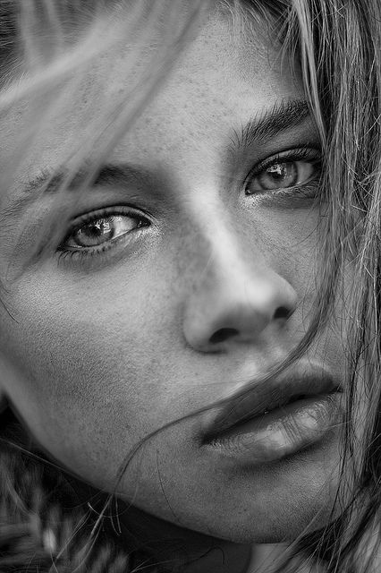 Love that intense look in the eyes #portrait #photography love the lighting and developing.