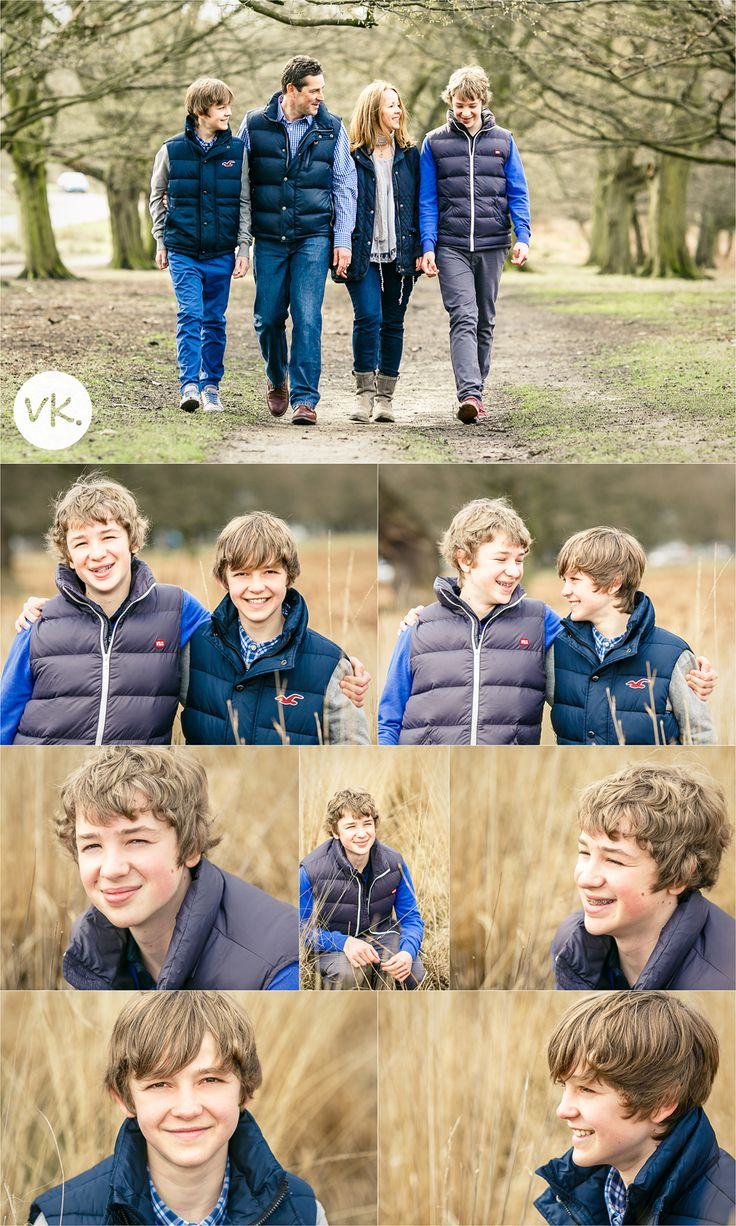 Family photo shoot with teenagers | Vicki Knights Photography